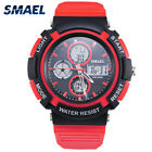 Outdoor Mountain Waterproof Sports Electronic Dual Display Watch Boys Mens Gifts