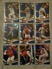 2017 Topps Chrome Sapphire Baseball Singles L.A. Angels Pick Your Player Card