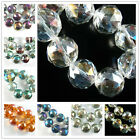 Bulk 10pcs Faceted Round Glass Crystal Beads Spacer Finding 20mm Craft Jewelry
