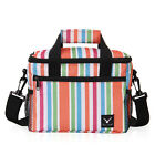Insulted Thermal Cooler Picnic Lunch Box/Bag with Adjustable Shoulder Strap NWT