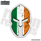 Ireland Flag Spartan Helmet Decal Irish Celtic Car Truck Gloss Sticker HGV