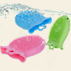 2017 Soft Silicone Gel Double Sides Bathing Cleaning Shower Massage Brush