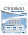 8 x Camelion AAA Micro Akkus HR03 800mAh Ready to Use Vorgeladen 1,2V Blister