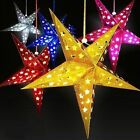 Christmas 3D Laser Paper Star Lampshade Lantern Xmas Wedding Party Hanging Decor