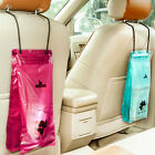 50Pcs Portable Car Trash Bags Hanging Resealable Plastic Kitchen Garbage Bags
