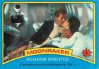 1979 TOPPS JAMES BOND 007 MOONRAKER - PICK / CHOOSE YOUR CARDS $0.99 USD on eBay