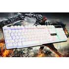 104 Keys Wired Cooling Seven Colors LED light Backlight Mechanical Keyboard PC
