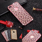 Luxury Glitter Bling Diamond crystal Silicone Rubber Soft Case Cover For Phones