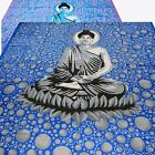 Bedspread Bed Cover Buddha Meditation Decorative Cloth Cotton Wall Hanging yoga