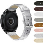 8 Colors Genuine Leather Replacement Wristband Bracelet For Samsung Gear Sport