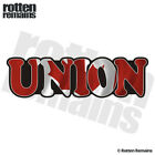 Union Decal Canada Canadian Flag Trade Hard Hat Gloss Sticker HGV