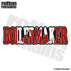 Boilermaker Decal Canada Canadian Flag Hard Hat Gloss Sticker HGV