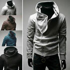 Mens Hoody Sweater Hoodie Coat Jacket Sweatshirt Jumper Tracksuit Top Slim Fit