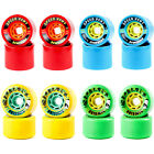 SEISMIC Longboard Wheels Rolls Speed Vent - Tantrum Roll Replacement 4 Set NEW