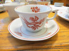 Vintage Adams Chantecler China England Cups Saucers Creamed Soup Small Plates