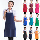 Hot Cooking Kitchen Restaurant Waterproof Apron Bib New Dress with Pocket Aprons