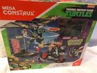 New! Teenage Mutant Ninja Turtles Party Wagon Mega Bloks with Raph and Shredder
