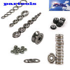 U/V flanged miniature/Miniature Thrust groove Sealed Ball Bearings AU