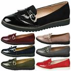 WOMENS SHOES LADIES LOAFERS FLATS FRINGE TASSEL TWO TONE BROGUES STYLE SIZE NEW