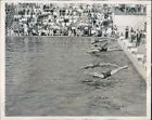 1936 Mens Olympic 200 Meter Breast Stroke Tryouts  Press Photo