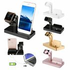 Charging Dock Stand Charger Holder For Apple Watch iWatch iPhone 7 Plus LOT GA