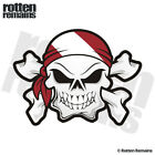 Dive Flag Skull Crossbones Decal Scuba Diver SAR Diving Gloss Sticker HVG