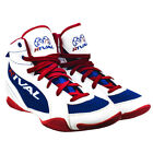 Внешний вид - Rival Boxing Lo-Top Mesh Paneled Guerrero Boots - White/Blue/Red