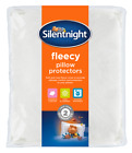 Silentnight Fleecy Mattress Protector Cover - Single Double King or Super King