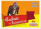 2003 Topps All American Football Parallel/Jersey Singles (Pick Your Cards) image