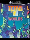 Tetris Worlds (Nintendo GameCube,  2002) case and disc only booklet is missing