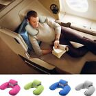 Outdoor Travel Pillows Inflatable Neck Pillow Air Cushion Sleep Head Support US