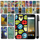 For ZTE Prestige N9132 Z828 Z832 Z831 2016 Black TPU SILICONE Case Cover + Pen