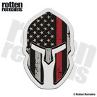 American Subdued Flag Thin Red Line Spartan Decal Firefighter Gloss Sticker HVG