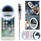 Portable LED Ring Fill Light Selfie Camera Photography for Android iPhone Phone