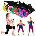 Exercise Resistance Band Elastic Pilates Latex Tube for Gym Yoga Fitness Workout image