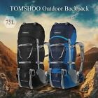 70+5L Sport Water-resistant Backpack Camping Hiking Bag with Rain Cover Y1U0