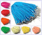 10/100 pcs 25 Colors Chiffon ribbon wax string necklace DIY Jewelry accessories