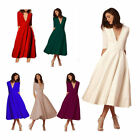 Women Long Formal Prom Dress Cocktail Party Gown Evening Bridesmaid Dress O6619
