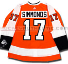 WAYNE SIMMONDS PHILADELPHIA FLYERS HOME AUTHENTIC PRO ADIDAS NHL JERSEY