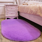 New Long Plush Soft Shaggy Memory Foam Area Rugs Bedroom Carpet Non-slip Mats