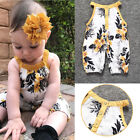 Child Sleeveless Printing Jumpsuits Cute Baby One-Pieces Baby Clothes O0109
