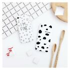 Cow Milk Spotted TPU Phone Case For iPhone 7 7Plus 6 6S Plus 8 8Plus