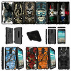 For LG K8 (2017) | LG Aristo | LG LV3 MS210 Clip Armor Case - Tough Designs