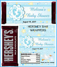 BLUE BOY BABY SHOWER CANDY BAR WRAPPERS HERSHEY BAR WRAPPERS