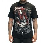 Sullen Red Rain Mens T Shirt Tattoo Red Haired Girl MMA UFC MX Skate