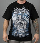 Sullen Send Death Mens T Shirt Tattoo MMA UFC MX Skate