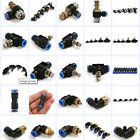 Air Pneumatic  Valve Push In Fittings Connector for Air/Water Hose Tube