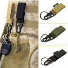 Military Nylon Key Hook Webbing Molle Buckle Hanging Belt Carabiner Clip Outdoor