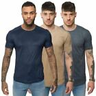 Loyalty & Faith Mens Ribbed Short Sleeve Tee Casual Crew Neck TShirt Branded Top