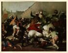 The Second of May; by Francisco de Goya: Tipped in Art Book Plate 1954 (Abrams)